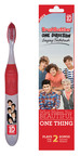 "Brush Buddies Singing Toothbrush features ONE DIRECTION and two of their hit songs: ""What Makes You Beautiful"" and ""One Thing.""  Available worldwide excluding North America January 2013.  (PRNewsFoto/Brush Buddies)"