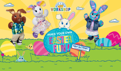 Build-A-Bear Workshop invites guests to hop into stores this spring for a variety of new Easter offerings and exciting updates to signature products.