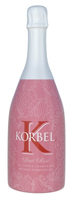Korbel California Champagne released its new, limited edition bottle wrap, offering consumers an updated package design for its award winning Korbel California Brut Rose. A pink lace pattern adorns the bottle with a crisp, white capsule. The overall design displays a sophisticated, yet whimsical appearance that compliments the bright and pleasant flavors inside the bottle. Made using the time-honored methode champenoise, it is the perfect selection to add a special touch to any occasion and is a great pairing with a wide range of foods including grilled seafood, pork or chicken as well as a go-to accompaniment to pizza.