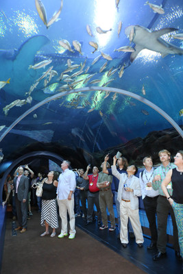 Each year, attendees of AUVSI's flagship event enjoy a blow-out networking event on Wednesday night. In 2015, Northrop Grumman sponsored the event at the Georgia Aquarium.