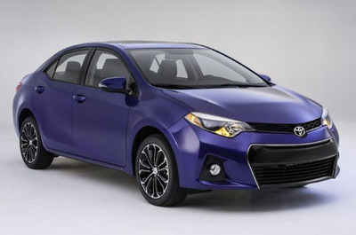 2014 Toyota Corolla near Chicago, IL.  (PRNewsFoto/Toyota of River Oaks)