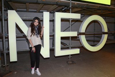 Selena Gomez, global style icon for adidas NEO Label, in teen curated fashion show.