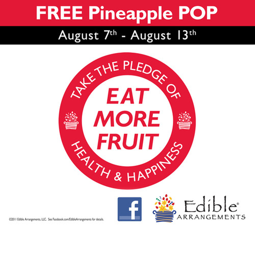 Edible Arrangements® Invites America to Take the Pledge!
