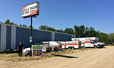 U-Haul Opens for Business in Williston, North Dakota (PRNewsFoto/U-Haul)