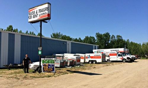 U-Haul Opens for Business in Williston, North Dakota (PRNewsFoto/U-Haul)