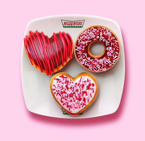 Krispy Kreme® Valentines Doughnuts: Three Tasty Ways to Say 'I Care'