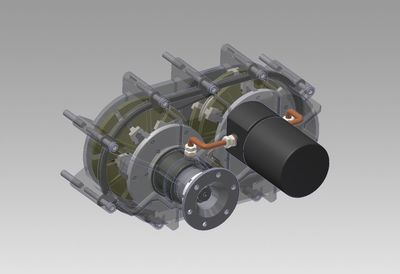 3-D image of the Controlled Rotation System