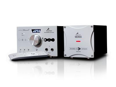 The Antelope Audio Zodiac Platinum alongside the Voltikus power supply. (PRNewsFoto/Antelope Audio) (PRNewsFoto/ANTELOPE AUDIO)