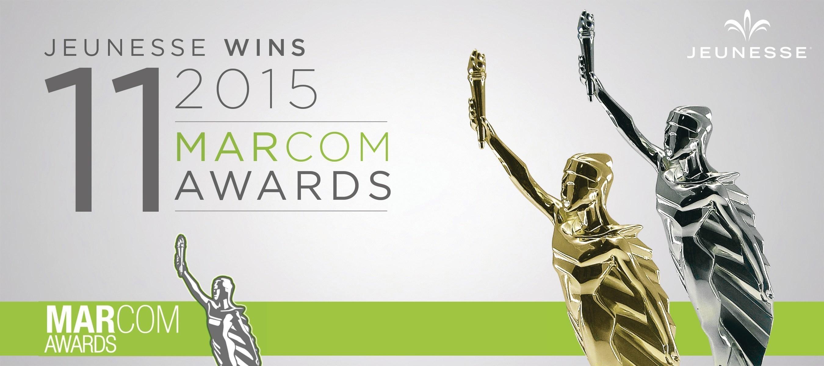 Jeunesse Garners 11 Awards in Prestigious MarCom Competition