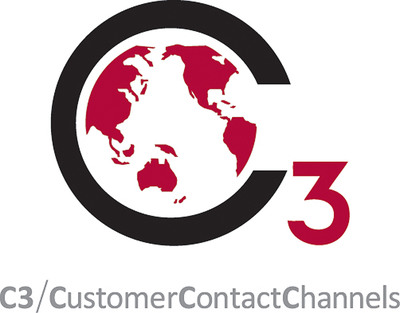 C3/CustomerContactChannels logo. (PRNewsFoto/C3/CustomerContactChannels)