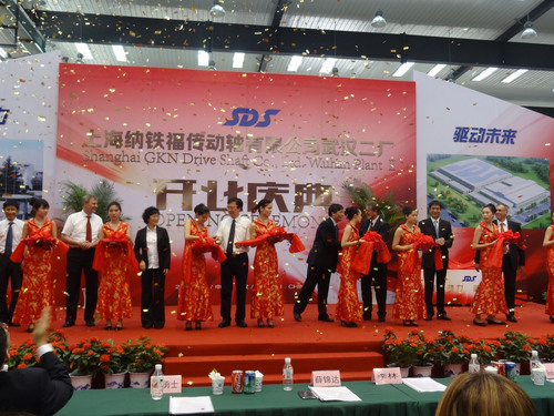 GKN Driveline Expansion Continues In China