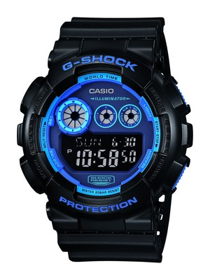 CASIO G-SHOCK RETURNS WITH NEON COLORWAYS. (PRNewsFoto/Casio America, Inc.)