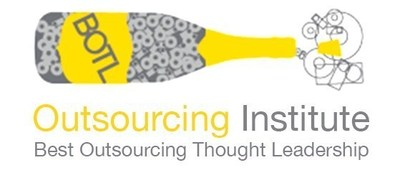 Outsourcing Institutute Best Outsourcing Thought Leadership Award - Arise Virtual Solutions Inc.