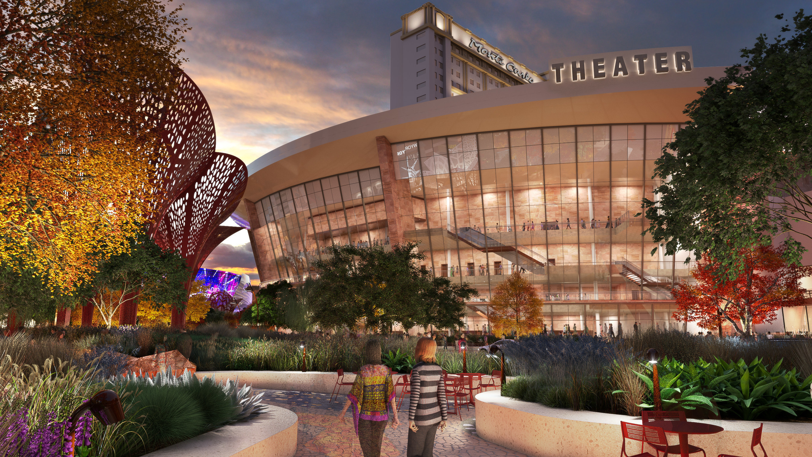Monte Carlo Resort and Casino will be home to an approximately 5,000-seat theater featuring a robust calendar of special engagements by many of the music industry's most-celebrated performers.