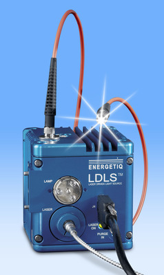 Energetiq Technology EQ-99FC: Laser-Driven Light Source with Fiber Coupled Output.  (PRNewsFoto/Energetiq Technology, Inc.)