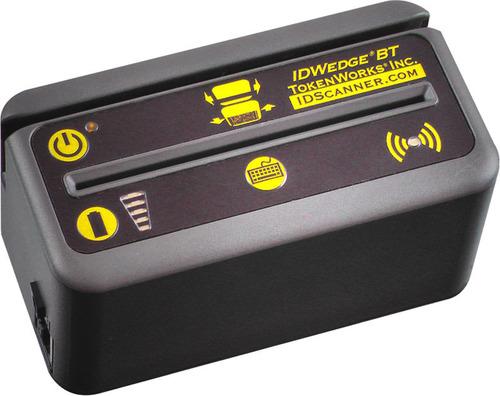 The TokenWorks IDWedgeBT ID Card Scanner.  (PRNewsFoto/TokenWorks)