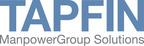 Tapfin Logo.  (PRNewsFoto/Manpower)