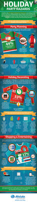 Infographic: Holiday Party Hazards can hit close to home