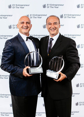 Denali Co-Founder's Majdi and Mohamad Daher honored as Pacific Northwest Entrepreneurs of the Year by Ernst and Young. (PRNewsFoto/Denali Advanced Integration)