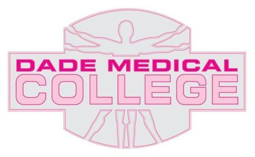 Dade Medical College's Go Pink logo.  (PRNewsFoto/Dade Medical College)