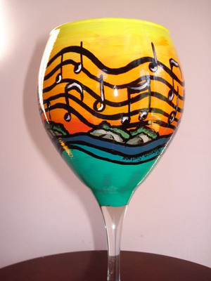 Drinkable Art by Be Heard Contest Grand Prize Winner Becky Suriano