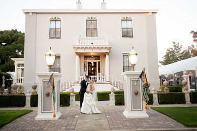 Making its debut in the East Bay market, Jefferson Street Mansion joins the nationally recognized wedding brand, Wedgewood Wedding & Banquet Center. Photo Credit: Connie Leal Photography