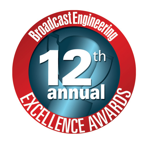 Penton's Broadcast Engineering Announces 12th Annual 'Excellence Award' Winners