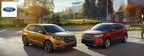 The 2015 Ford Edge will be the first Ford model with a standard EcoBoost engine. (PRNewsFoto/Wiscasset Ford)