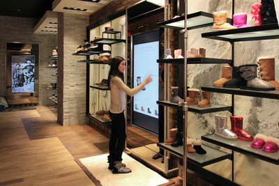 Deckers' Omni-Channel commitment on display at first high-tech UGG store in