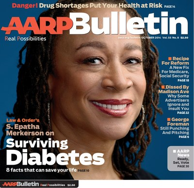 The October Issue of AARP Bulletin (PRNewsFoto/AARP)