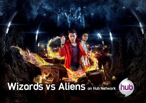"""Wizards vs Aliens"" Debuts June 1 on Hub Network.  (PRNewsFoto/Hub Network)"