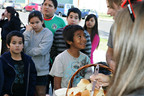 Team AVIIR, GUARDaHEART and Red Eye serve up hot soup in South Central Los Angeles.  (PRNewsFoto/Aviir, Inc.)