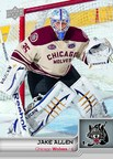 Jake Allen AHL Card from Upper Deck (PRNewsFoto/Upper Deck)