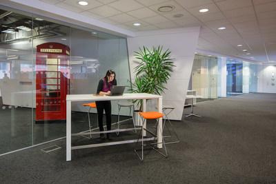 Mobile working in IBM Studio London