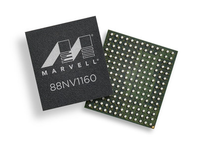 Marvell expands its solid-state drive (SSD) portfolio to include the 88NV1160 Non-Volatile Memory (NVM) Express DRAM-less SSD controller. Marvell's 88NV1160 DRAM-less SSD controller provides the industry's leading performance per Watt and up to 1600MB/s read speeds. The 88NV1160 can be used in a single ball grid array (BGA) package SSD, as well as in a standalone controller in a tiny 9x10mm package which makes it compatible with M.2230 and M.2242 form factors. These features make the 88NV1160 optimized for a new generation of slim computing devices such as productivity tablets and ultrabooks.