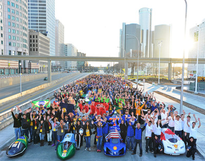 Shell Eco-marathon Americas 2016 invites high school and college teams to register for the ultimate mileage challenge now through November 16, 2015. Over 1,000 students from Brazil, Canada, Guatemala, Mexico and the United States brought their super energy-efficient vehicles to compete on the streets of downtown Detroit at Shell Eco-marathon Americas this past April.