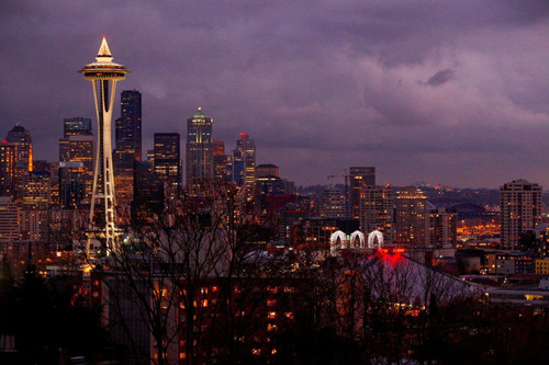 Seattle area hotels offer thirty-three festive packages to sweeten a holiday visit to the Emerald City. (Seattle city skyline photo courtesy of (C) Fire Eyes Photography). (PRNewsFoto/Visit Seattle)
