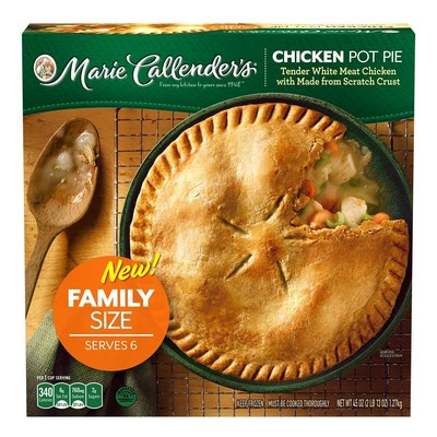 Savor tender, white-meat chicken, carrots, celery, and peas baked in a flaky, golden crust-it's classic comfort cooking the whole family will love.