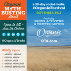 September will be Organic Myth Busting Month.