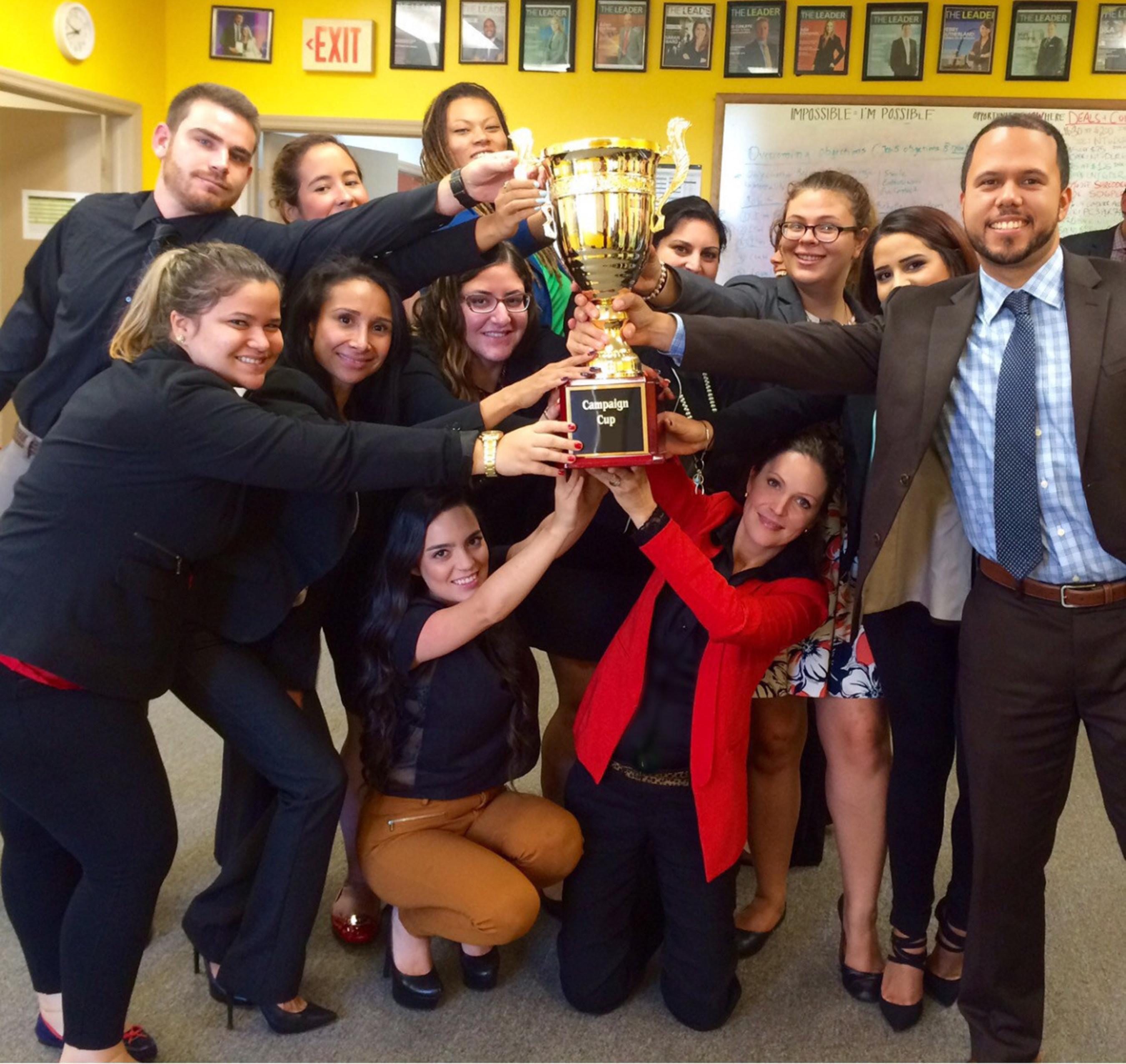 LNE Consulting Awarded Prestigious Campaign Cup