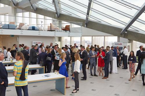 Networking at Ecobuild 2016 sneak peek event (PRNewsFoto/UBM EMEA Built Environment) (PRNewsFoto/UBM EMEA Built Environment)