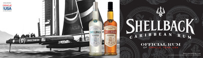 Shellback Rum Proud Sponsor of ORACLE TEAM USA.  (PRNewsFoto/Shellback Rum)