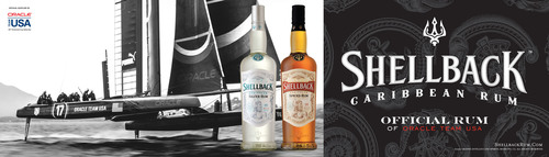 Shellback™ Rum Congratulates ORACLE TEAM USA On Their Historic Win Of The 34th America's Cup