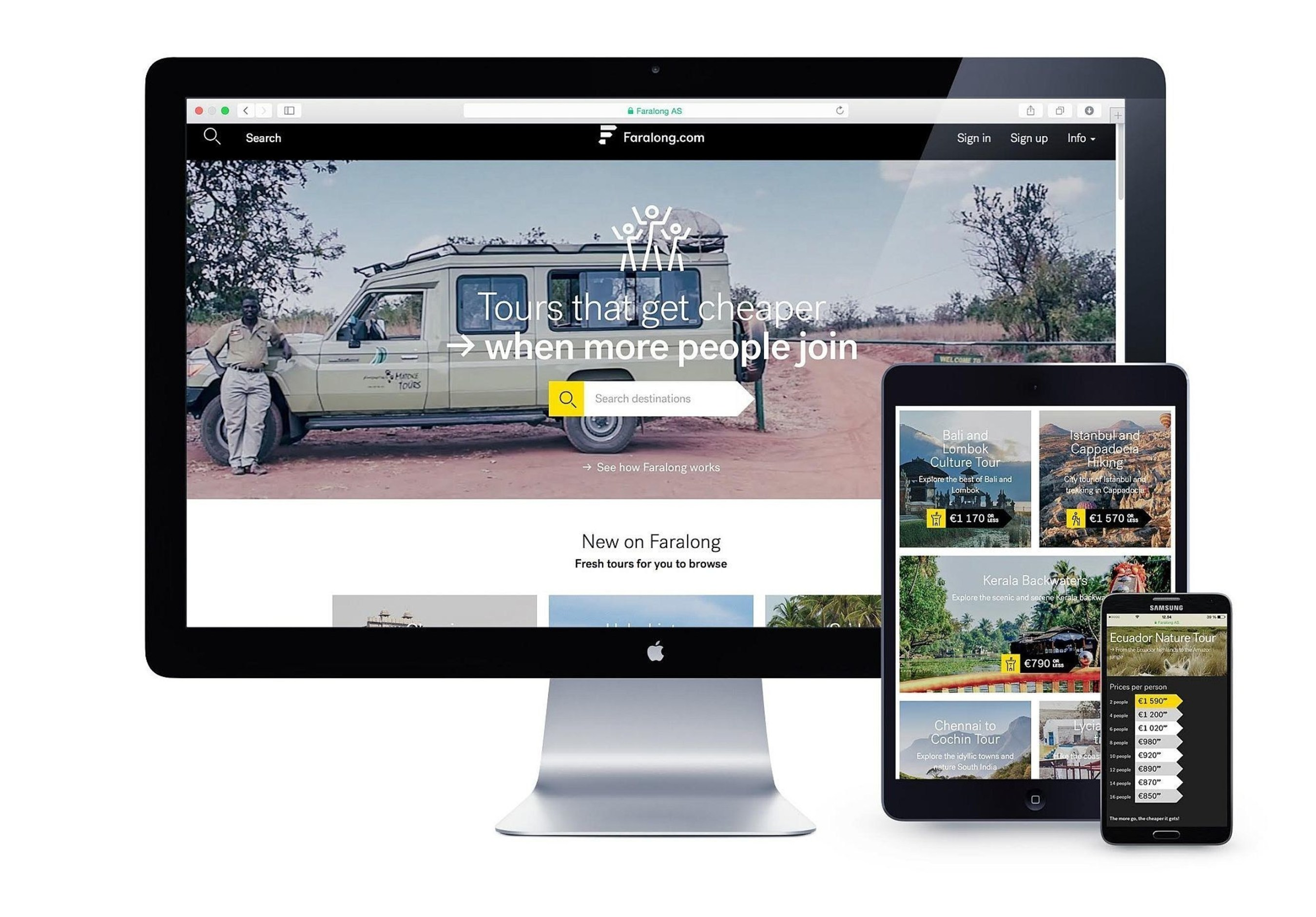Faralong.com - A Revolutionary New Booking Platform Changing the Adventure Travel Industry