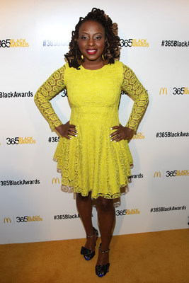 NEW ORLEANS - (July 5, 2014) – Soulful singer Ledisi walked the golden carpet before performing in the McDonald's 365Black Award ceremony. The 11th annual program, held at the New Orleans Theater, took place on July 5. McDonald's 365Black Awards are given annually to salute outstanding individuals who are committed to making positive contributions that strengthen the African-American community.
