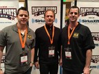 FantasyAces co-founders (l-r) Trent, Tom and Bryan Frisina at the Fantasy Sports Trade Association's 2015 Winter Conference.