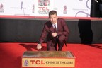 Ethan Hawke, star of Sony Pictures Worldwide Acquisitions and Vertical Entertainment's Predestination places handprints and footprints at TCL Chinese Theatre IMAX Forecourt on Jan. 8.