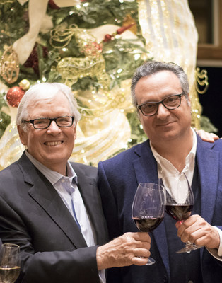 Bill Foley, Founder, Foley Family Wines and Mario Piccini, Managing Director, Piccini Wines.
