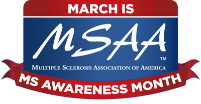 MSAA's March is MS Awareness Month Logo. Please right click to save file and add it to your social media profile. (PRNewsFoto/Multiple Sclerosis Association of America) (PRNewsFoto/MULTIPLE SCLEROSIS ASSN OF AMER)