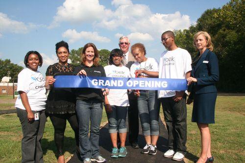Winners of the Belk Service Learning Challenge in Jackson, Miss. (PRNewsFoto/Belk, Inc.)